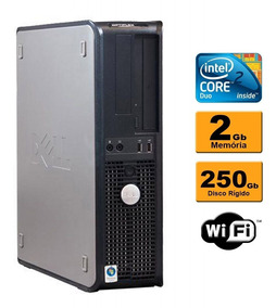 Cpu Dell Optiplex 380 Intel Core 2 Duo 2gb Hd 250 Dvd Wifi