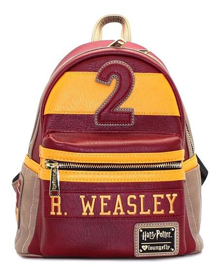 Mini Mochila De Harry Potter Weasley #2 Loungefly