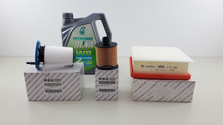 Kit Filtros Fiat Toro Diesel Original + Aceite Selenia