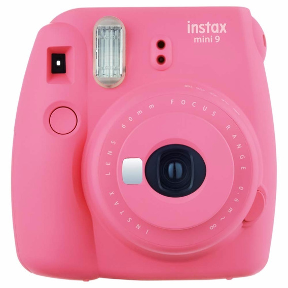 Câmera Instantânea Fuji Instax Mini 9 Rosa Flamingo