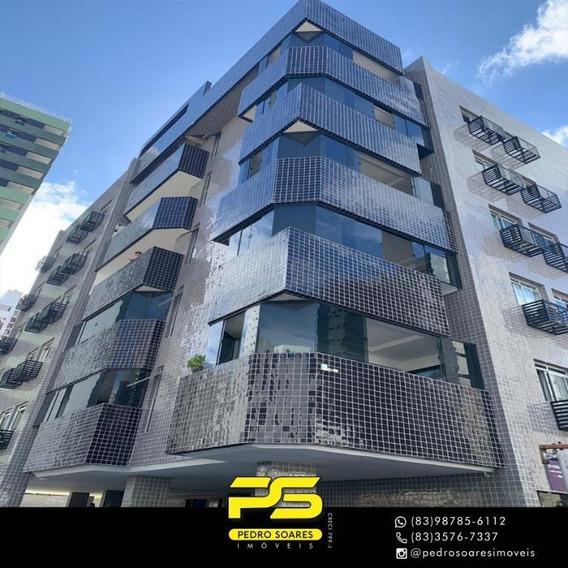 Cobertura Com 4 Dormitórios À Venda, 385 M² Por R$ 620.000 - Tambaú - João Pessoa/pb - Co0061