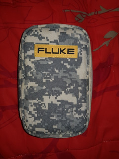 Bolso Fluke Diseño Camuflaje Nuevo