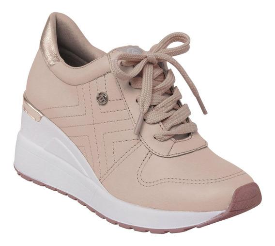 Tenis Feminino Via Marte Salto Anabela Sneaker 19-3322 3353