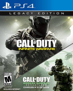 Call Of Duty Infinite Warfare + Modern Warfare Ps4 Nuevo