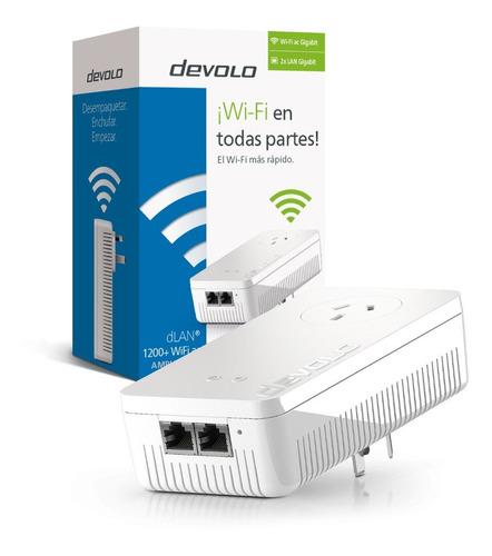Repetidor Amplificador Wifi Devolo Plc 1200+ Wifi Ac Single