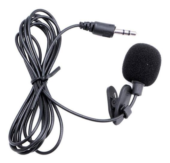 Microfone De Lapela Stéreo Gravação Profissional P/ Pc Etc