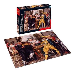 Puzzle 1000pzs Empresa Feliz Willem Buytewech Ft346 E.full