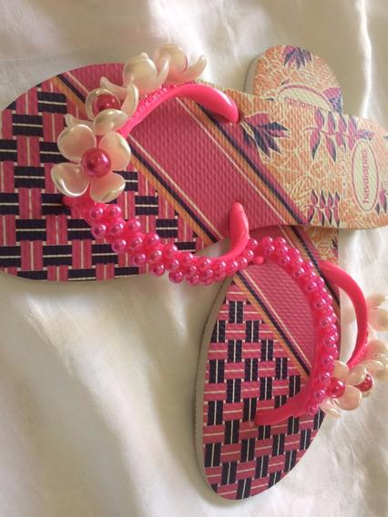 Promoção De Chinelos Customizados Havaianas