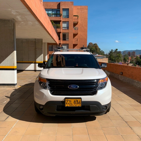 Ford Explorer Full Equipo Blanca