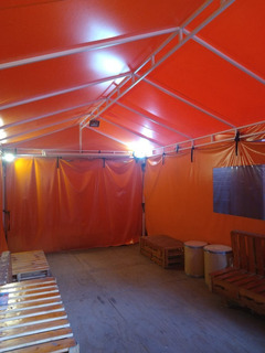 Carpa Grande Con Reflectores Led
