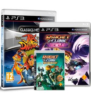 Jak And Daxter Trilogy Y 2 Juegos De Ratchet Ps3