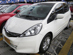 Honda Fit Lx 2013 Blanco