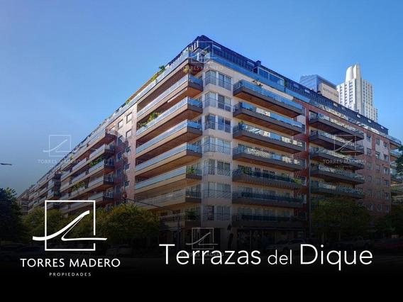 Gran Duplex En Esquina De 3 Dormitorios Sobre Los Diques - 2 Cocheras !!