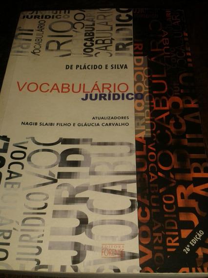 Vocabulário Jurídico (de Plácido E Silva)