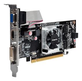 Placa De Vídeo 1gb Ddr3 R5230 Pcie Radeon Hdmi Dvi 64bits!!