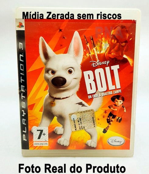 Bolt Ps3 Disney Playstation 3 Original Mídia Física
