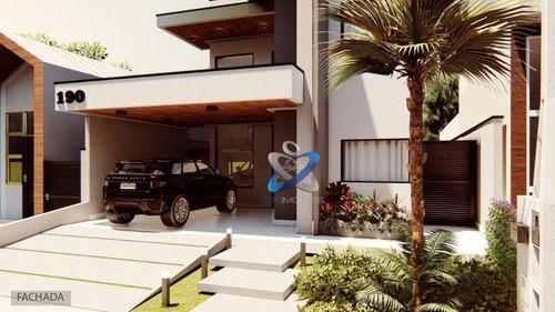 Imagem 1 de 27 de Casa Com 3 Dormitórios À Venda, 206 M² Por R$ 795.000 - Reserva Do Vale - Caçapava/sp - Ca0989