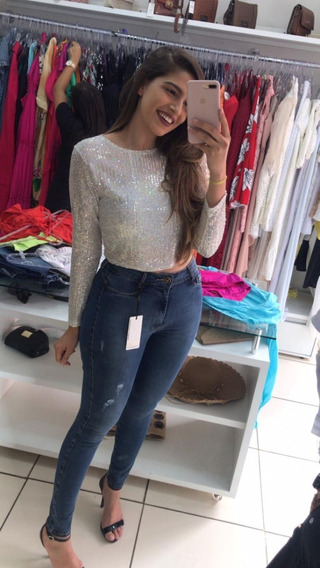 Calça Jeans Premium Deluxe Miller Modelagem Levanta Bumbum