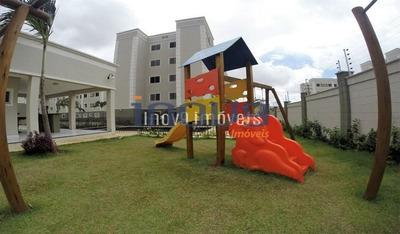 Apartamento Com 2 Dormitórios À Venda, 52 M² Por R$ 170.000 - Maraponga - Fortaleza/ce - Ap0249