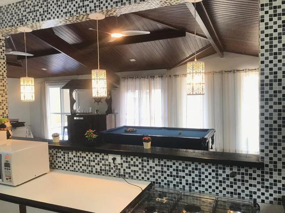 Casa 4 Quartos Piscina Sauna Garagem Para 6 Carros