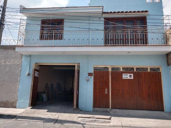 Casa 2 Pisos, Con Bodega, Terraza Y Estacionamiento