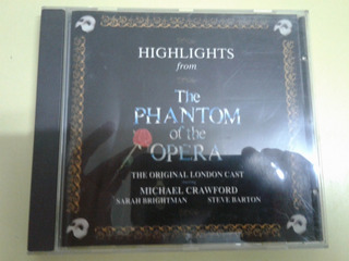 Highligths From The Phantom Of The Opera - Cd