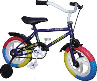 Bicicleta Siambretta Rodado12 Niños Con Rueditas