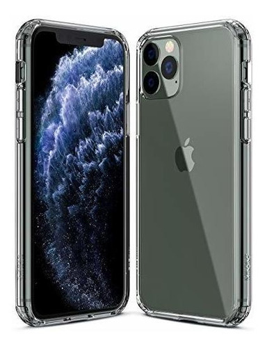 Mkeke Compatible Con iPhone 11 Pro Case, Funda Transparente