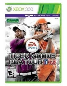Tiger Woods Golf Pga Tour 13 - Jogo P/ O Xbox 360 Original