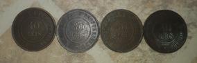 Moeda Antiga 40 Reis 1893,1909,1910