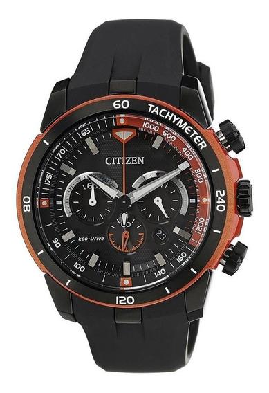Relógio Citizen Masculino Tz30786j Ecodrive Black Original
