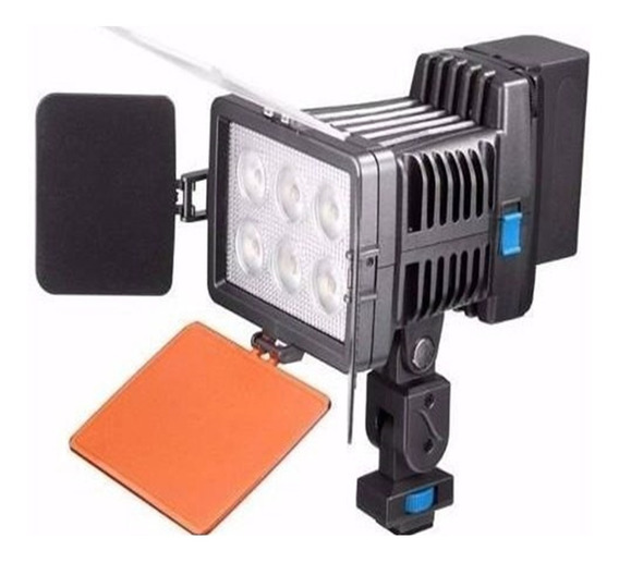 Video Light 5010a Iluminador Led Bateria F570 Canon Nikon