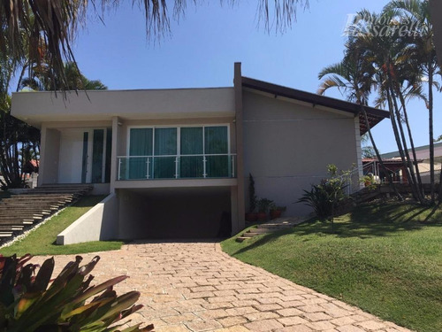Casa Com 4 Dormitórios À Venda, 500 M² Por R$ 2.500.000,00 - Condomínio São Joaquim - Vinhedo/sp - Ca1972