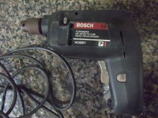Ferramenta Antiga Furadeira Bosch Antiga Funcionando Ok