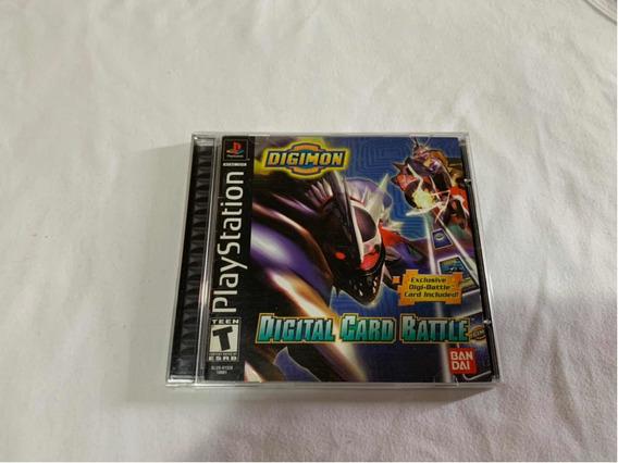 Digimon Digital Card Battle Ps1 Completo Americano