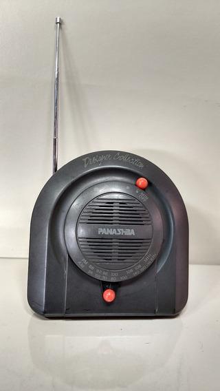 Antigo Rádio Panashba Am Fm Designer Colletion Portatil