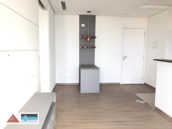 Apartamento Com 1 Dormitório Para Alugar, 40 M² Por R$ 2.300/mês - Jardim Anália Franco - São Paulo/sp - Ap5672