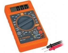 Tester - Multimetro Digital Truper Mut-830