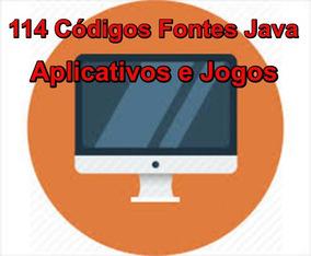 Código Fontes Java-kit Com Mais 117 Aplicativos E Jogos