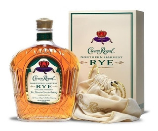 Whiskey Crown Royal Rye Northern Harvest De Litro Con Estuch