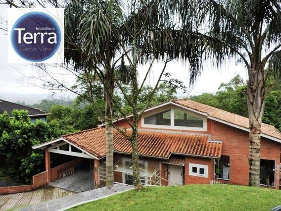 Casa Residencial À Venda, Parque Das Artes, Granja Viana. - Ca0767