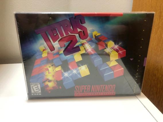 Tetris 2 Original Lacrado Americano Super Nintendo