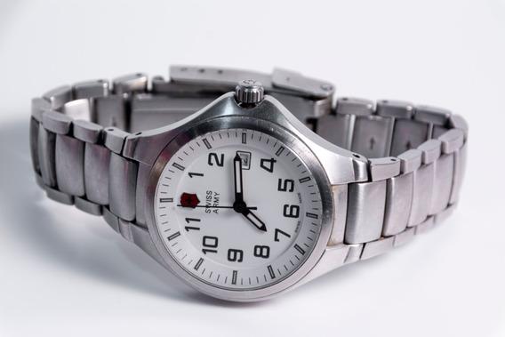 Relógio De Pulso Feminino Swiss Army De Inox