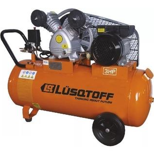 Compresor De Aire 100 Litros 3 Hp Lusqtoff Lc-30100