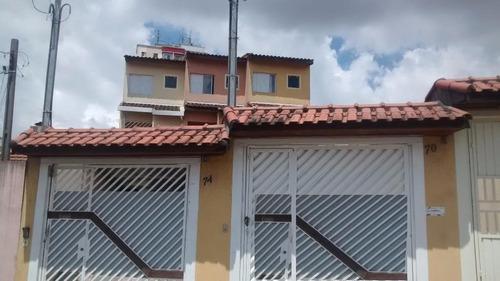 Imagem 1 de 30 de Sobrado Residencial À Venda, Vila Nova Savoia, São Paulo. - So1355