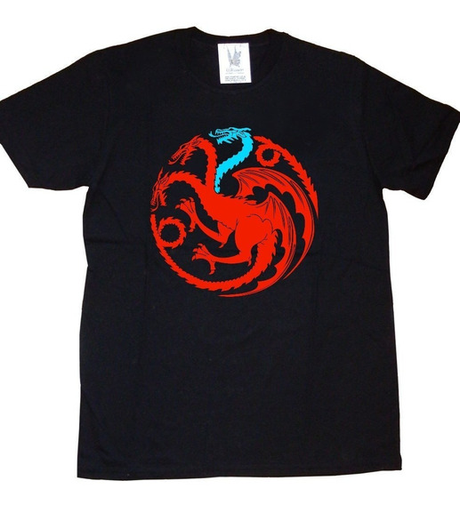 Remeras Estampadas Game Of Thrones Targaryen Juego De Tronos
