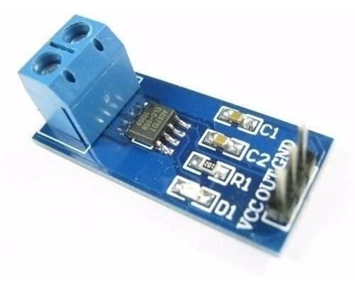Sensor De Corrente 20a Acs712