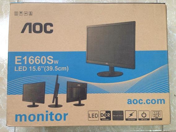Monitor Led 15,6 Aoc E1660sw Kingpc104 Tienda
