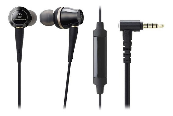 Fone De Ouvido C/ Mic Audio-technica In-ear - Ath-ckr100is