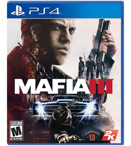Juego Mafia 3 Ps4 Sellado
